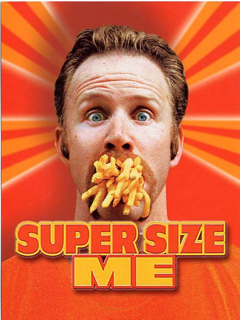 a critique of morgan spurlocks supersize me essay Supersize me is never preachy and doesn't  break the trend of the morgan spurlocks and the michael moores and think  let me address each critique: 1).